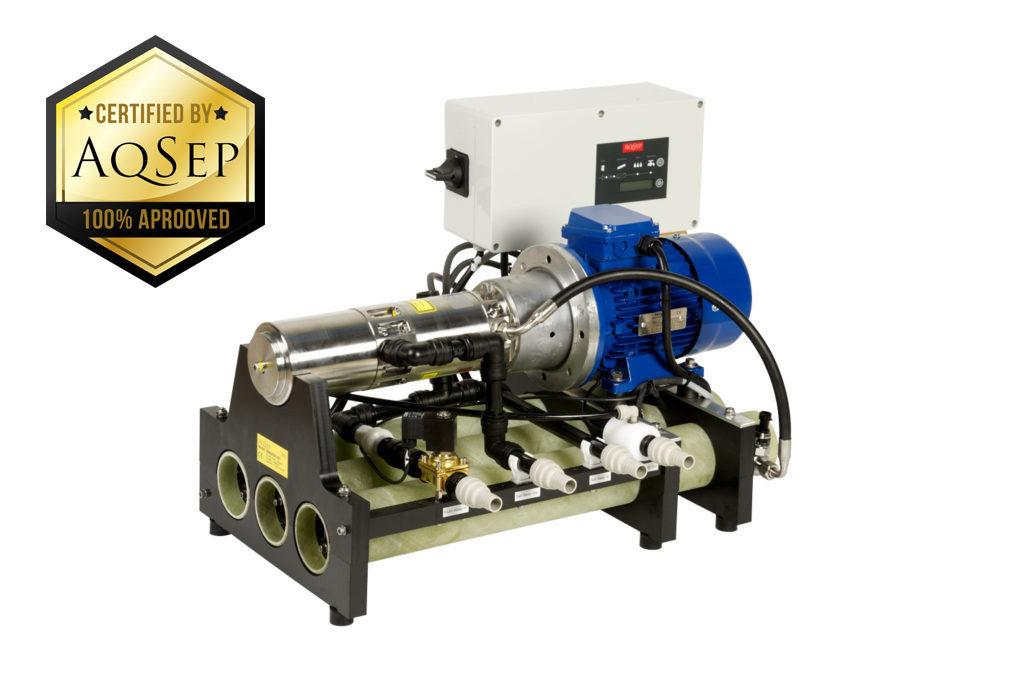 Off grid water Desalination unit